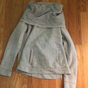 Jcrew funnel neck sweatshirt
